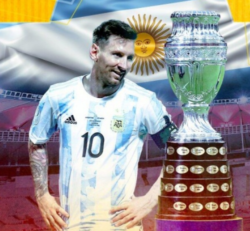 梅西美洲杯冠军
