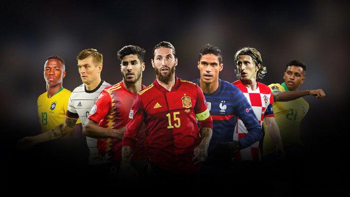 皇马球员入选西班牙国家队